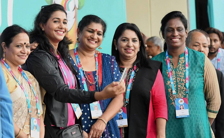 Former long jumper Anju Bobby George, Shiny Wilson, PT Usha and other legendary athletes were in attendance. PTI