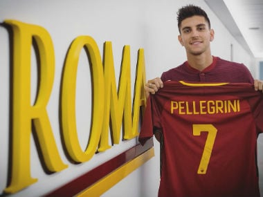 Lorenzo Pellegrini signs a year deal with AS Roma. Twitter:@ASRoma