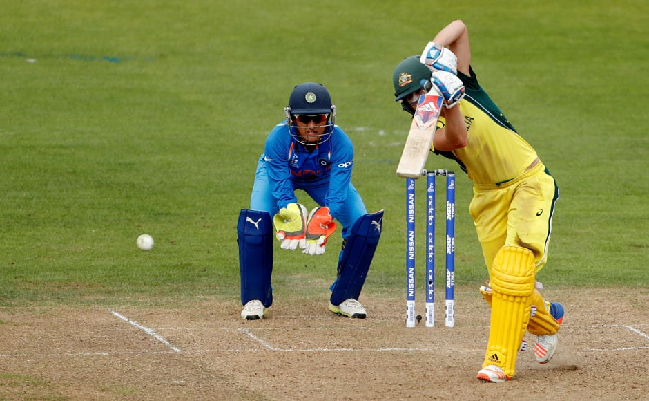 Ellyse Perry's contribution too was important as she stitched a 124-run stand with Lanning and also scored her fourth successive fifty. Reuters