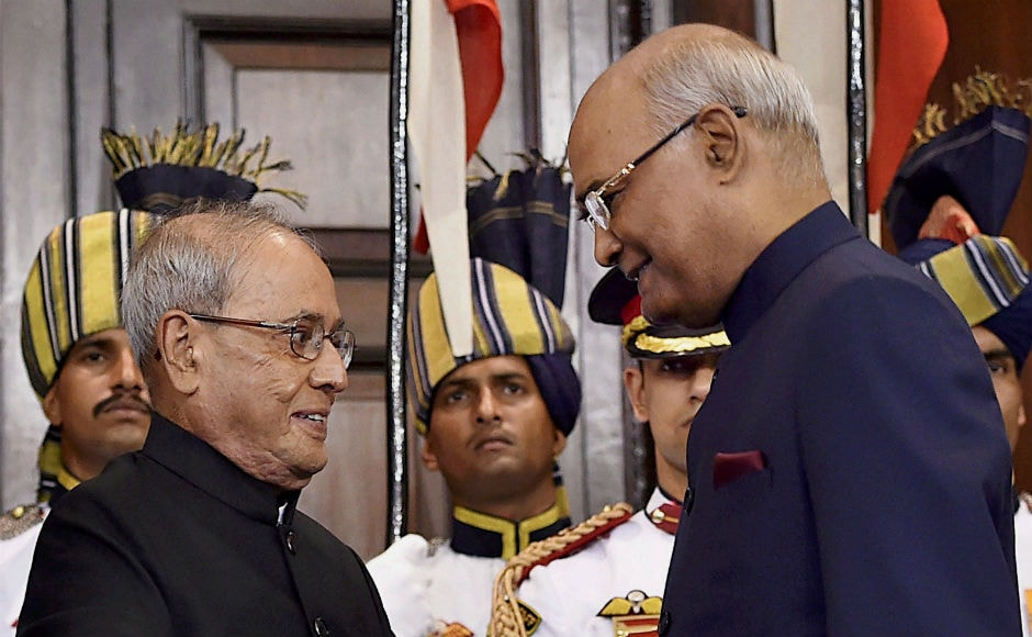 After he took oath, Kovind was given a 21-gun salute to mark the assumption of office of the highest constitutional post in the country. PTI