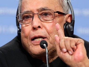File image of Pranab Mukherjee. Reuters
