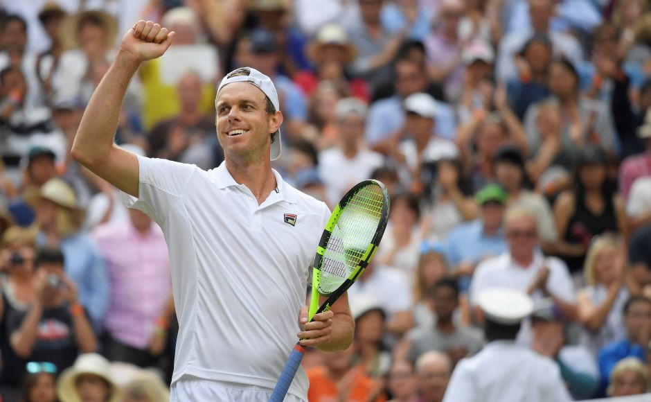 Sam Querrey reached the first Grand Slam semi-final of his career — and the first for any American man anywhere since Andy Roddick was the runner-up at Wimbledon in 2009. Reuters