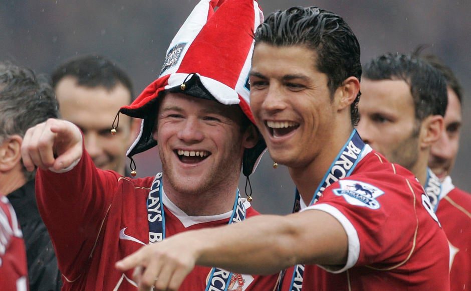 Rooney's partnership with Cristiano Ronaldo saw United win three Premier League titles and a Champions League before Ronaldo left for Real Madrid. Reuters.