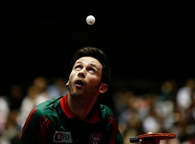 File image of Portugal's Joao Monteiro. Reuters