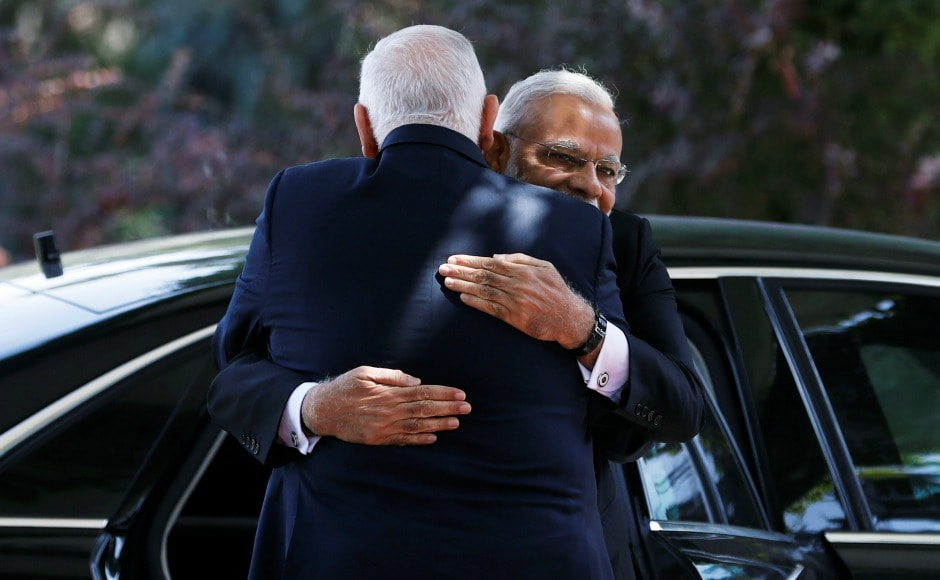 Narendra Modi thanked Rivlin for the warm welcome he has been receiving in the country since his arrival. Reuters
