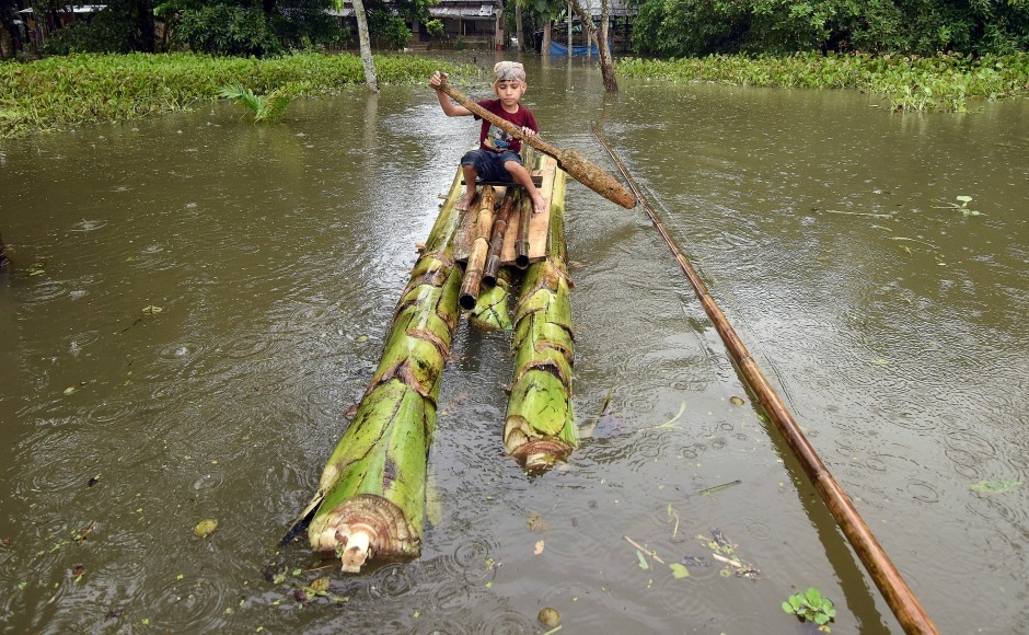 The flood in Assam has damaged roads and bridges. Central government has extended every possible help to the people in the state. Reuters