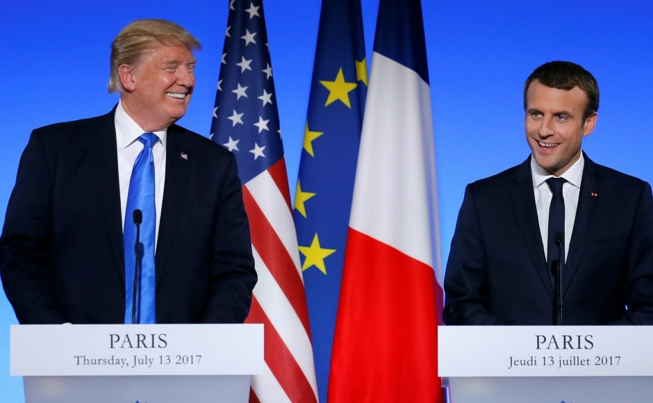 Trump, during his talks with Macron, pledged to draw up a road map on Syria, Iraq and counter-terrorism. Reuters