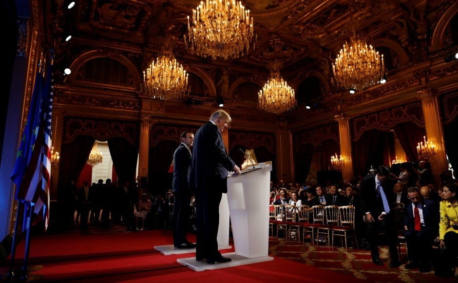 Although Macron acknowledged the differences that the two leaders have on climate pact, he said they would find other areas of cooperation. AP
