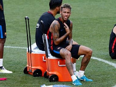 File photo of Barcelona's Neymar. REUTERS