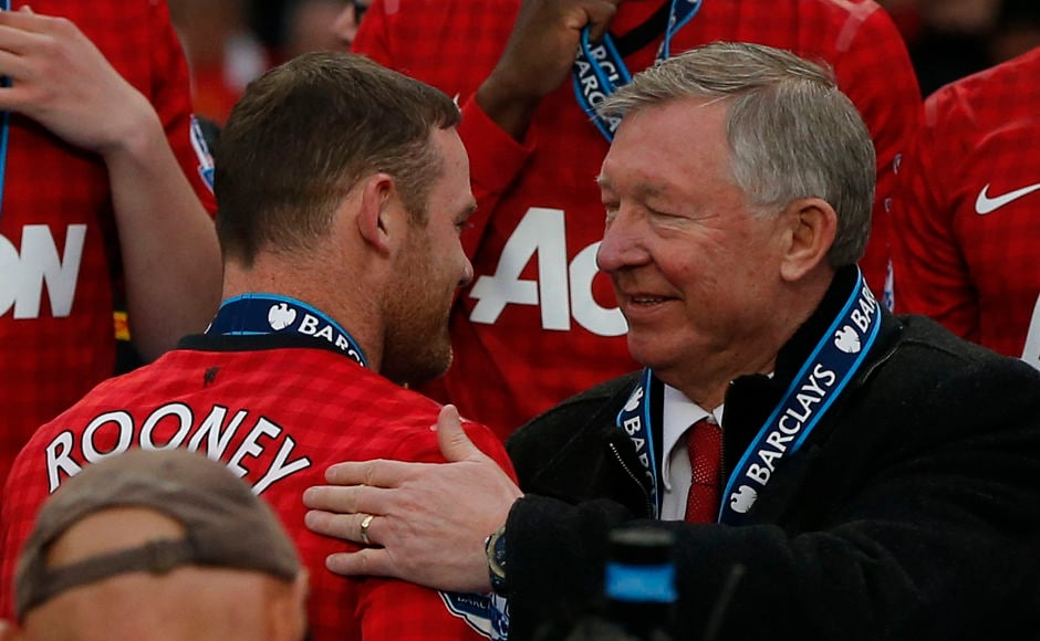 Alex Ferguson's relationship with Wayne Rooney deteriorated during the Scot's final seasons and he was close to joining rivals Chelsea after Ferguson's departure only to stay on at the club. Reuters