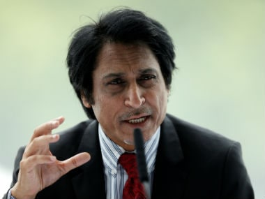 Ramiz Raja addresses the media during the MCC Committee meeting at the Lord's. Reuters