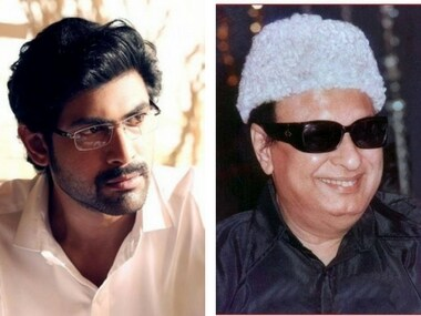 Rana Daggubati and MGR. Images via Facebook