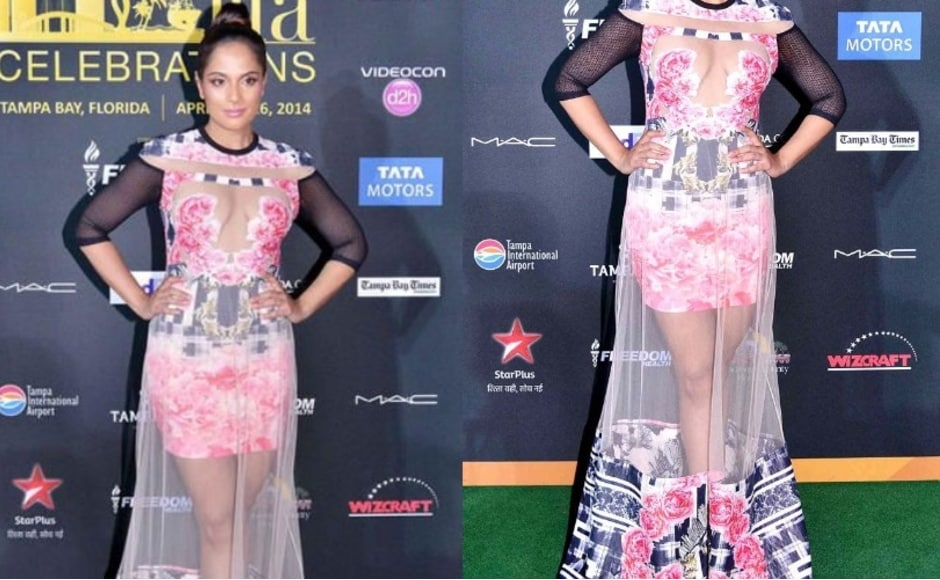 Richa Chadda at IIFA 2014 - Worst Dressed