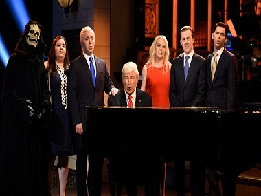 A still from Saturday Night Live. Twitter