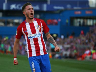 File image of Saul Niguez. Reuters