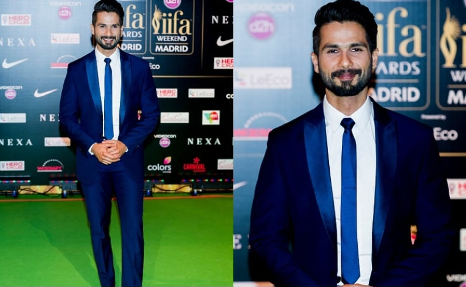 Shahid Kapoor at IIFA 2016 - Best Dressed