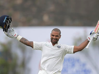 India vs Sri Lanka, 1st Test: Shikhar Dhawan, Cheteshwar Pujara drive hosts to dominant position on Day 1