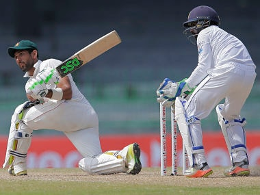 Zimbabwe's Sikandar Raza rescued his team from a disastrous position on 3rd Day of one-off Test against Sri Lanka. AP