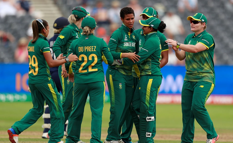South Africa. however, bounced back and dismissed three England batswomen in quick succession. Reuters