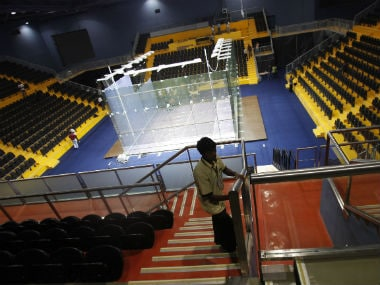 A general view of the squash facility at the Siri Fort Sports Complex, which was used during the 2010 Commonwealth Games. Reuters