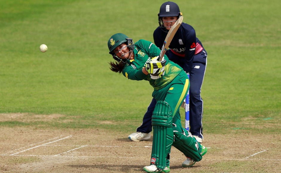 Sune Luus' late blitz guided South Africa past the 200-run mark. Reuters