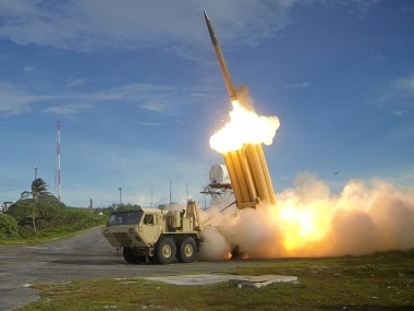 File image of the THAAD air missile defence system. Reuters