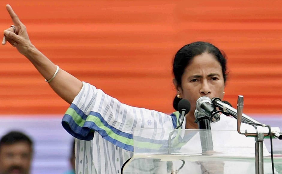 "Stepping up the attack against BJP, Banerjee announced that her party would hold an ""Oust BJP from India"" programme from 9 August to 30 August after alleging that the BJP had ""failed on all fronts"" including keeping good relations with foreign countries, especially neighbouring ones. PTI"