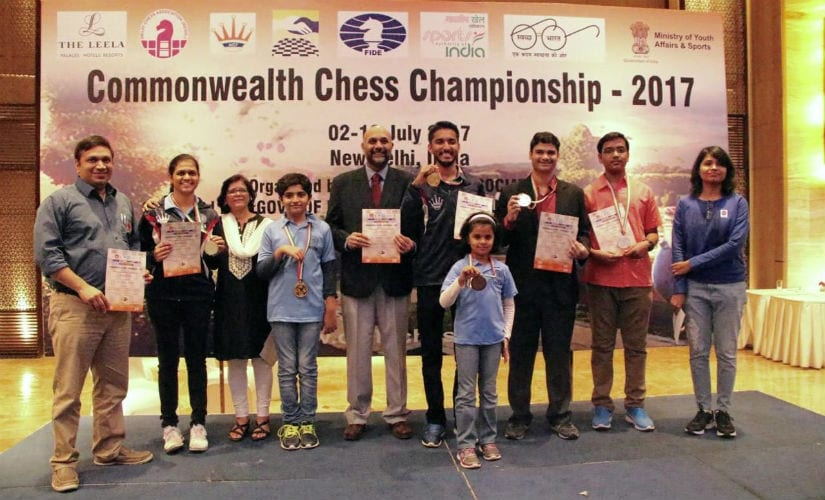 Team Maharashtra which performed pretty well in the tournament.