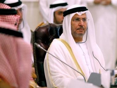 File image of Anwar Gargash. Reuters