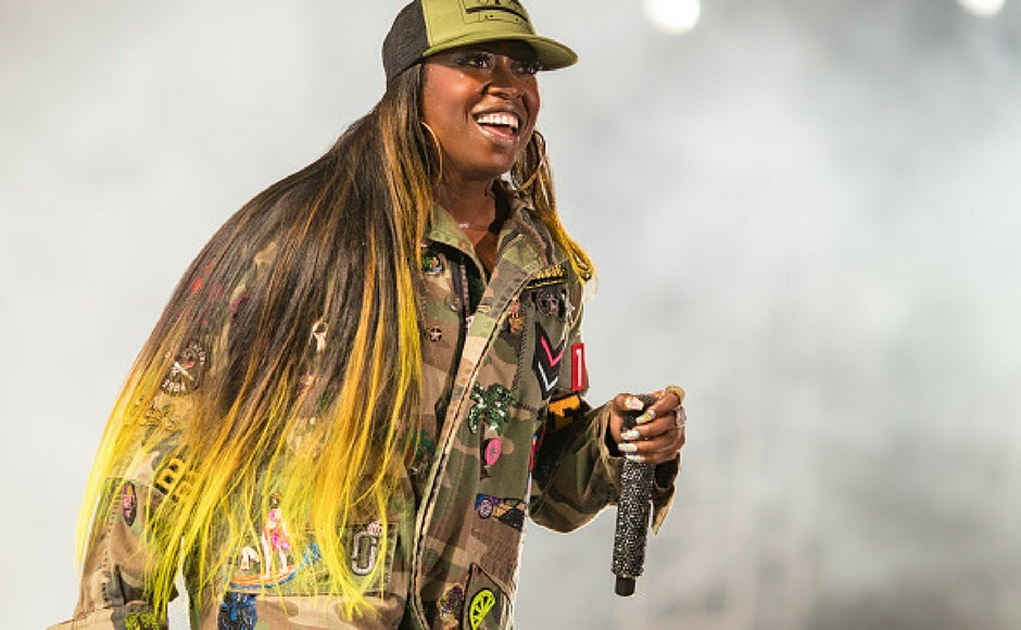 Missy Elliott performs onstage during day 1 of FYF Fest 2017 at Exposition Park in Los Angeles, California. (Getty Images)
