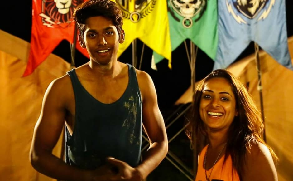 Baseer Ali and Shwetha Mehta were the finalists of the show. Image via MTV Roadies/Facebook