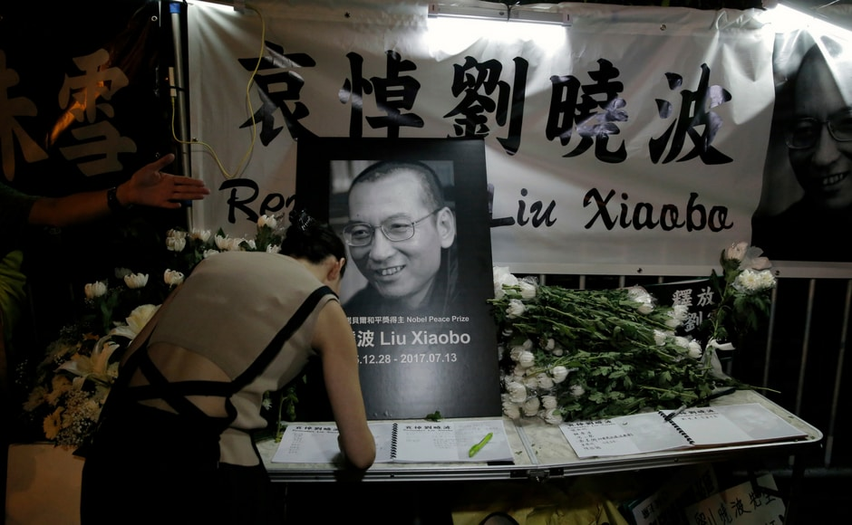 Liu was awarded the Nobel Prize in 2010 while serving his fourth and final prison sentence, for inciting subversion by advocating sweeping political reforms and greater human rights in China. AP