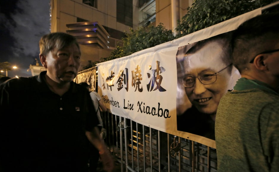 Liu's supporters and foreign governments had urged China to allow him to receive treatment abroad, but Chinese authorities insisted he was receiving the best care possible for a disease that had spread throughout his body. AP