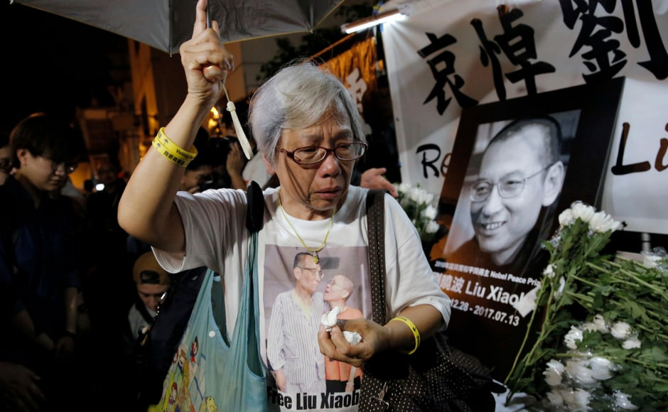 Liu was only the second Nobel Peace Prize winner to die in prison, a fact pointed to by human rights groups as an indication of the Chinese Communist Party's increasingly hard line against its critics. AP