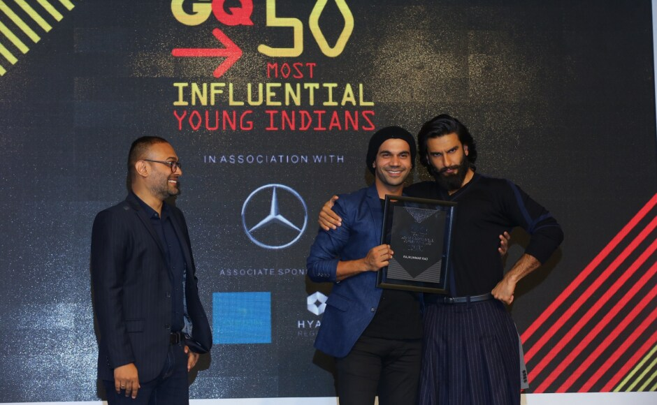 Rajkummar Rao received the GQ honour after having done some stellar movies — <em>Shahid, Trapped, Kai Po Che, Queen</em> to name a few — which left quite an impression on the audience and were critically acclaimed, too.