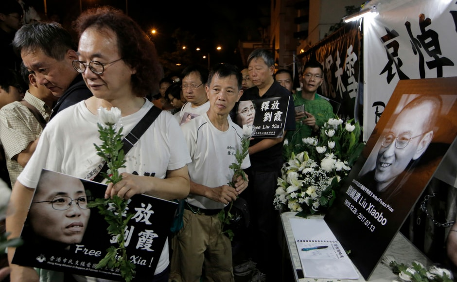 News of Liu's death sparked an immediate outpouring of grief and rage. His peaceful activism and biting criticism of one-party rule meant he had spent almost a quarter of his life behind bars. AP