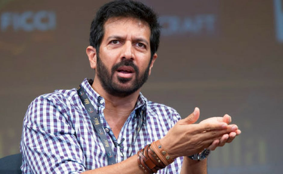 Filmmaker Kabir Khan speaks during a panel discussion on Media and Entertainment at the Asia Society in New York. (AP Photo)