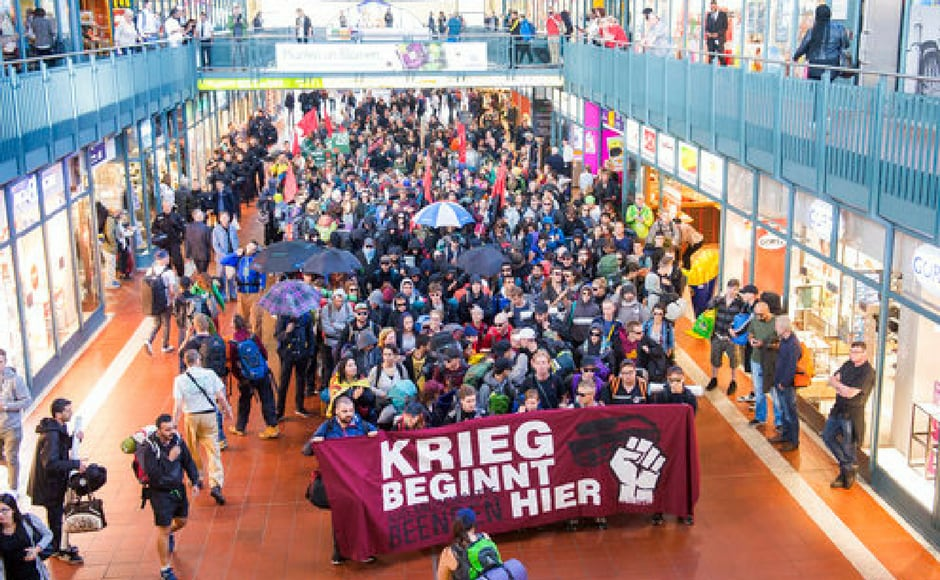 Some 30 demonstrations have been announced before and during the meeting, organised by anti-globalisation activists and environmentalists, trade unions, students and church groups. Reuters