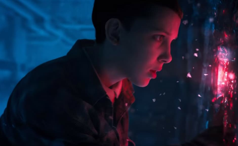 The new trailer of Stranger Things teases the return of the fan favourite character Eleven. Image via Youtube
