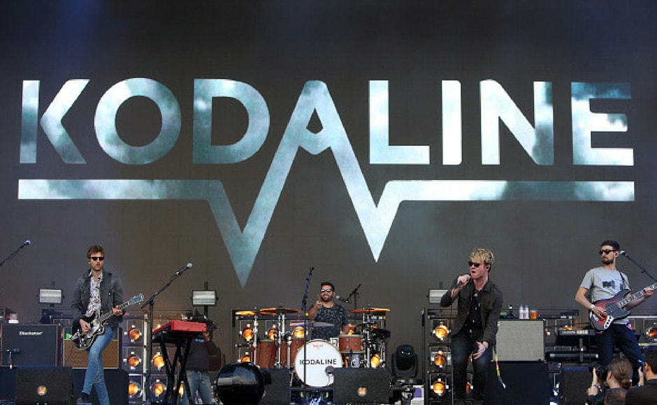 Kodaline performs at the NOS Alive music festival in Lisbon, Portugal, on July 8, 2017. ( Getty Images)