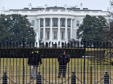 File image of White House. AP