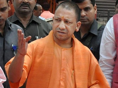 File image of UP chief minister Yogi Adityanath. PTI