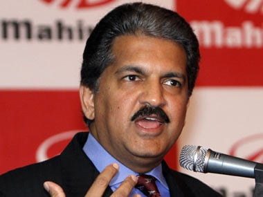 File image of Anand Mahindra. Reuters