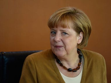 File image of German Chancellor Angela Merkel. AFP