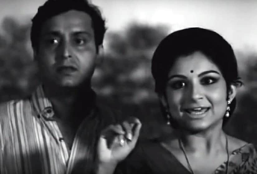 Still from Aranyer Din Ratri. Image via YouTube