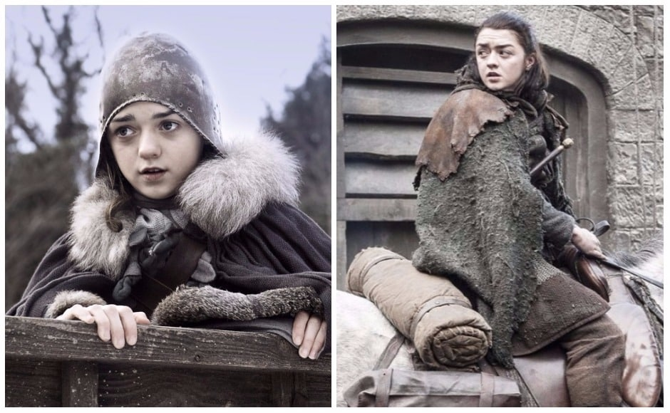 Arya was a scrap of a girl when we first knew her in Season 1 of Game of Thrones, duelling with Syrio Forel, scrapping with Sansa, and setting great store by Needle. Post-Braavos training, a girl has learnt how to be a cold-blooded assassin. Arya isn't the only season one character to have undergone a sea change over this seven-season journey of Game of Thrones.