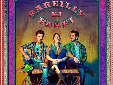 Rajkummar Rao, Kriti Sanon and Ayushmann Khurrana in Bareilly Ki Barfi. Image via Facebook