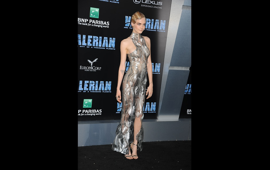 Rihanna, Cara Delevingne Turn 'Valerian' Red Carpet Into Couture Runway