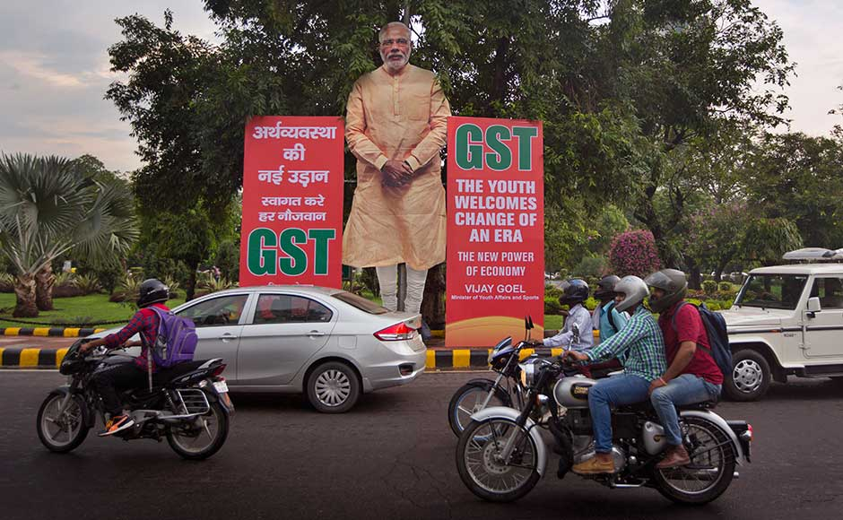 "Terming the GST a ""good and simple tax"", Prime Minister Narendra Modi said it will put an end to harassment of honest traders and small businesses while integrating the country into one market with one tax. AP"