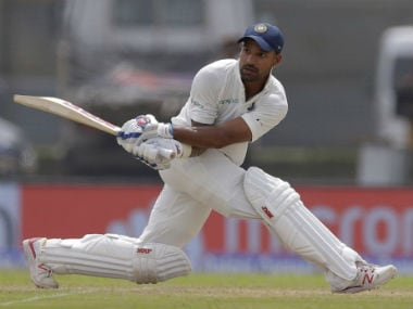 India vs Sri Lanka: Shikhar Dhawan, Cheteshwar Pujara depart cheaply as rain forces early tea